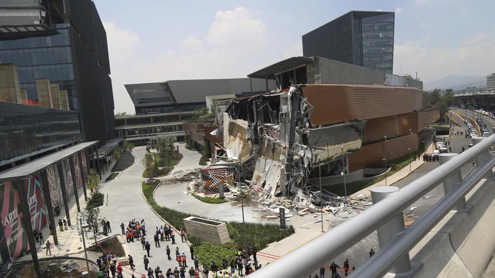 colapso de plaza