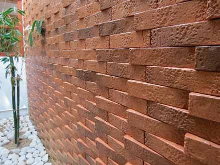 Variante de muros de mampostería